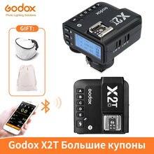 Godox X2T X2T-C X2T-N X2T-S X2T-F X2T-O X2T-P 1 TTL/8000s HSS Disparador de Flash Sem Fio para Canon Nikon Sony Fuji Pentax Olympus