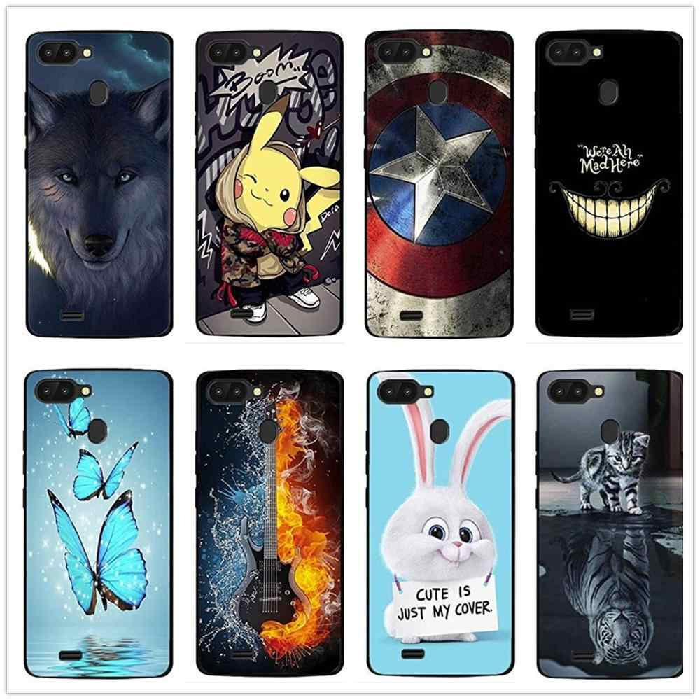 Soft TPU Glossy Silicone Case Back Cover Phone TPU Bumper Funda Custodia Housse Coque for Blackview A20 A20 PRO A30