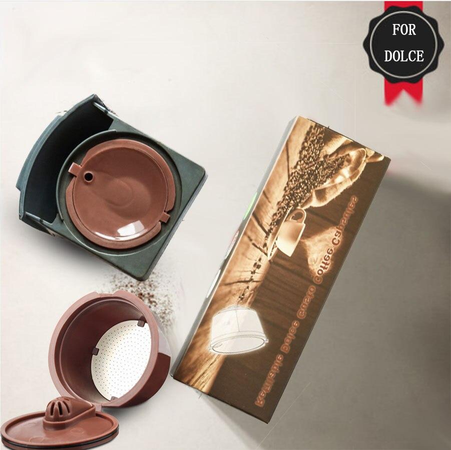 3rd Crema/Version normale réutilisable pour Dolce Gusto café Capsule Dolci Nescafe Machine réutilisable café filtre