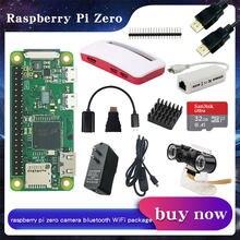 Raspberry Pi Zero /Zero W/Zero WH Kit + чехол из АБС-пластика + дополнительный адаптер питания SD-карта   Камера   Сетевая карта RJ45 для RPI zero