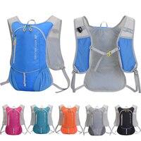 Mochila ultraligera de 8L para deportes al aire libre, bolsa de agua para acampar, correr, hidratación, senderismo, bicicleta