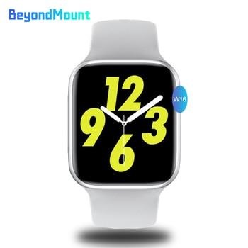 W16 Smart Watch 1.75inch Full Touch Waterproof IP68 Smartwatch with Heart Rate Blood Pressure ECG Monitor Watch6 PK IWO 12 IWO 8 часы iwo smart watch iwo 11