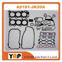 Revisão Kit de Vedação Do Motor PARA FITNissan J32Z TEANA VQ25DE 2.5L 24V V6 A0101-JK20A A0A01-JK20A 2004-2015