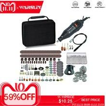 Dremel mini perceuse électrique, graveur, outil rotatif, machine à polir, outil électrique 180W, vitesse Variable stylo à graver avec accessoires