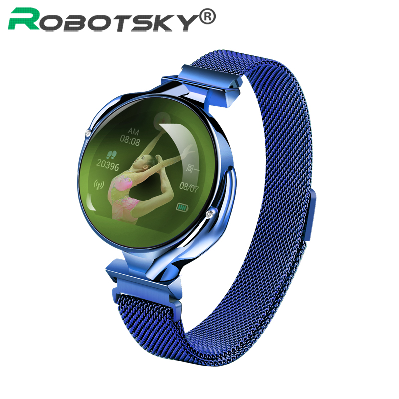 Buy Z38 Smart Bracelet Women Luxury Phone Call Heart Rate Monitor Sports Smart Watch Gift Blood Pressure Fitness Tracker Wristband for only 40.18 USD