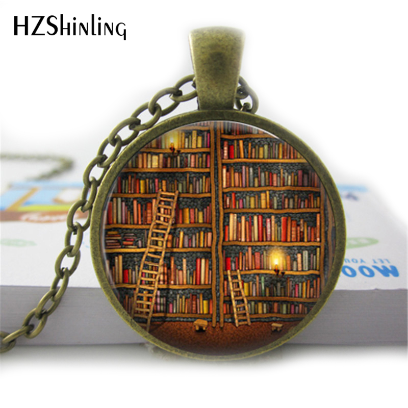 2020 She Is Too Fond Of Books Alcott Quote Pendant Necklace Cats Book Lover Jewelry Librarian Gift Writer Book Nerd HZ1