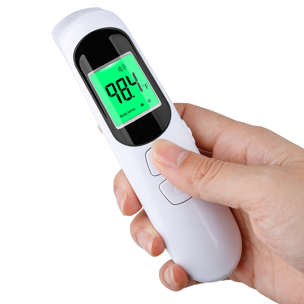 Digital LCD Ear Thermometer Gun Non-contact Infrared Thermometer Home Outdoor Portable Temperature Meter Dropshipping