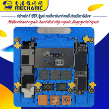 MECHANIC Apple phone motherboard repair multi-function double-layer fixture 5 MR5 chip fingerprint hard disk rework tool