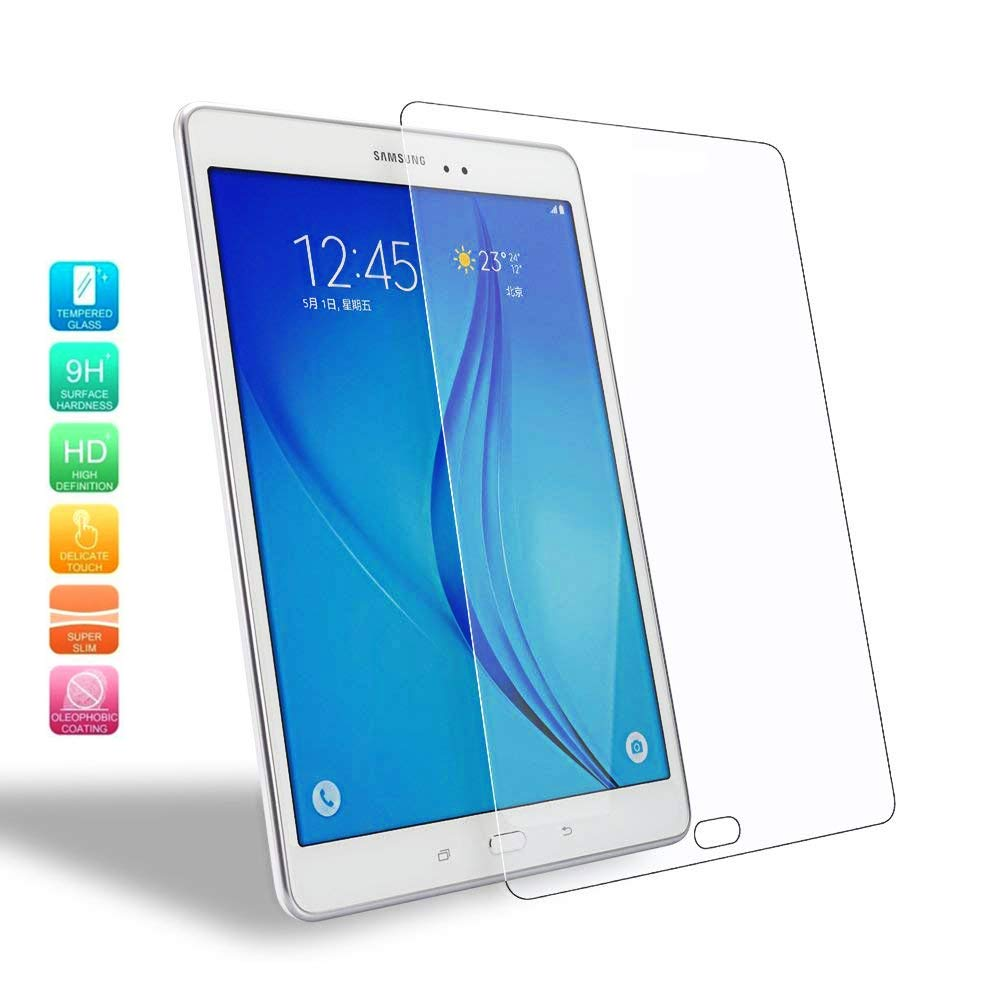 For Samsung Galaxy Tab A 9.7 Inch SM-T550 SM-T555 SM-T551 P550 P555 Tablet Screen Protector Protective Film 9H HD Tempered Glass