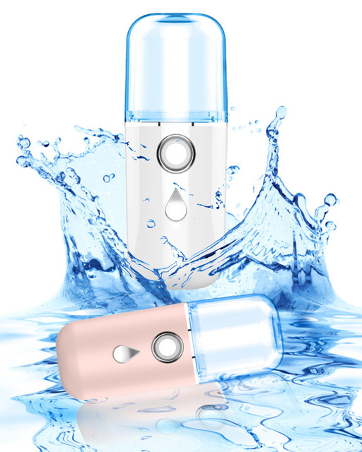 Mini USB Sprayer Moisturizing Skin Care Beauty Instruments Air Humidifier Facial Steamer