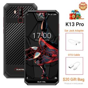 Смартфон OUKITEL K13 Pro, Android 9,0, 5 В/6A, 11000 мАч, 6,41 дюймов, четыре ядра, 4 Гб ram, 64 ГБ rom, OTA, отпечаток пальца, NFC, 4G, мобильный телефон