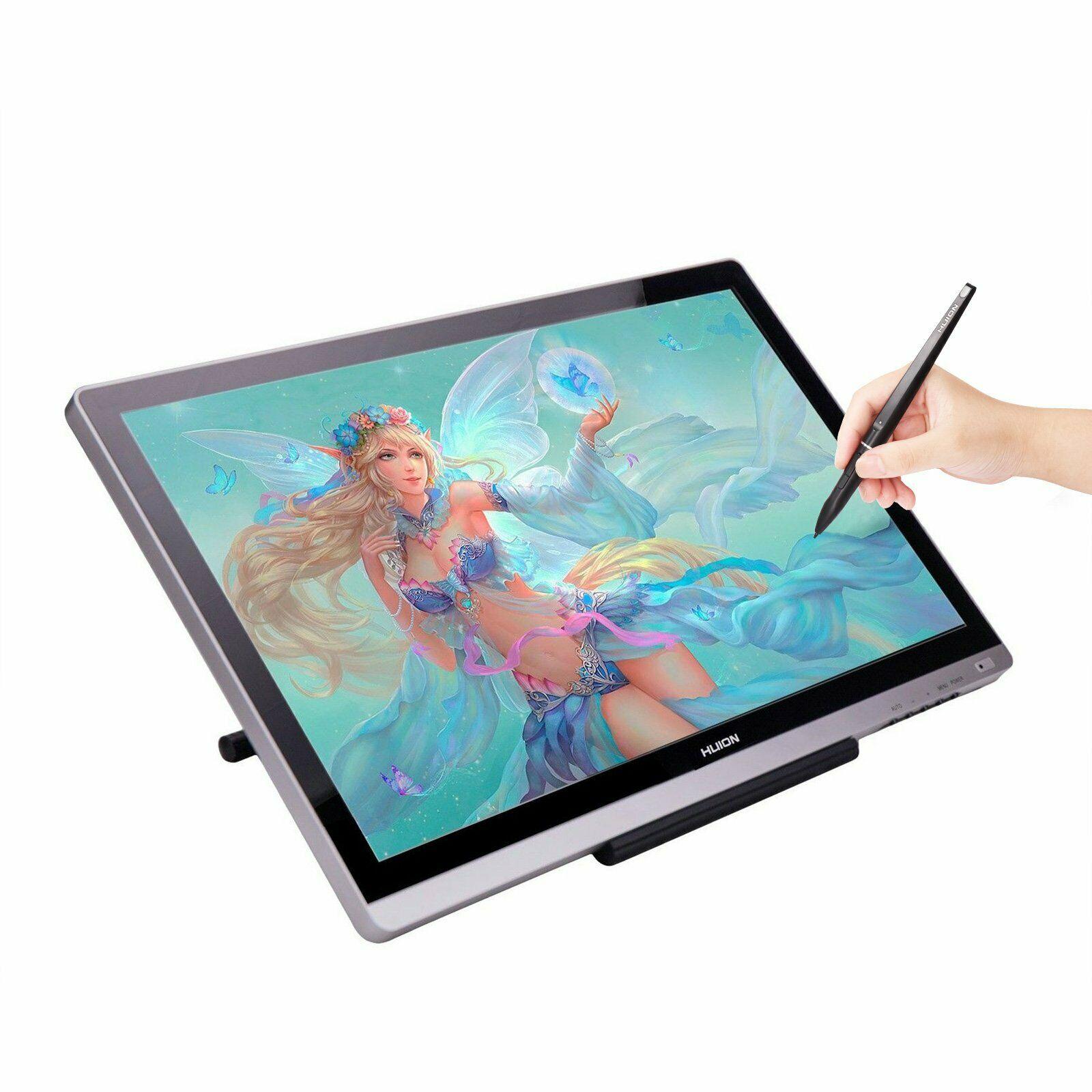 Huion GT220 v2 tableta gráfica Monitor de dibujo profesional 21,5 HD IPS Pen Display 8192 Pen presión arte animación con regalos