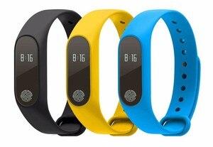 Image 2 - M2 braccialetto sportivo intelligente frequenza cardiaca rilevazione dellossigeno nel sangue monitoraggio del sonno sano pedometro braccialetto sportivo intelligente