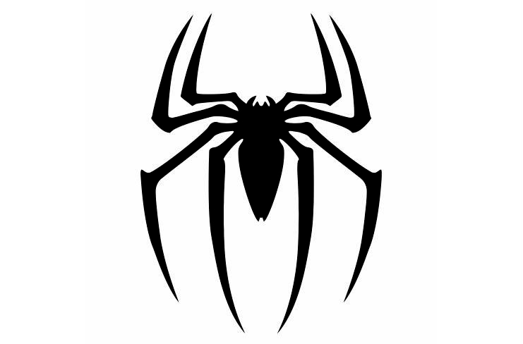 Cartoons Car Sticker Reptile Black Spider Car Styling Vinyl Motorcycl Decals Cover Scratches Waterproof PVC 15cm X 12cm