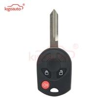 Kigoauto Remote key shell 3 button FO38 blade for Ford Fusion Escape Focus Edge 2007 2008 2009 2010 2011 2012 2013 kigoauto kr55wk48801 smart key case 3 button for ford kuga fiesta focus 2008 2010 2012