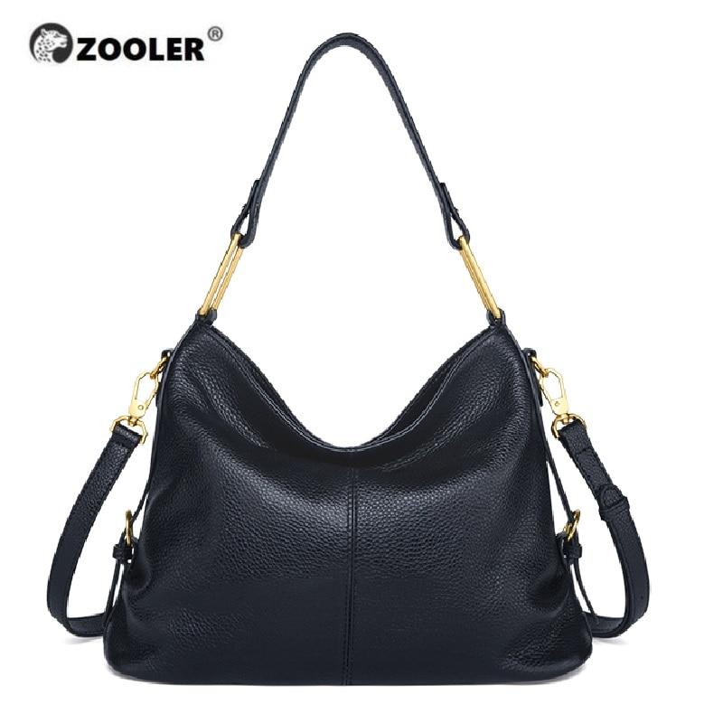 ZOOLER Fashion & Simple Genuine Leather Bag Luxury Handbags Women Bags Designer Female Shoulder Bag Ladies Bolsas Feminina#CK205