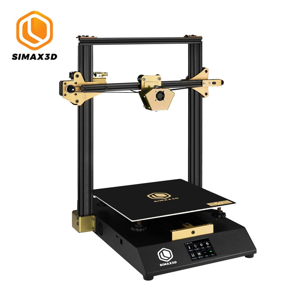SIMAX3D-X1 DIY 3D Printer Kit with MKS Robin Nano Board High Precision Color Touch Screen Extruder CR10 Well Power Supply image