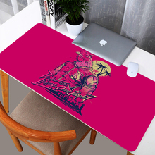 Hotline Miami Design Pad Desk 3mm Thickness Gaming Mousepad Large Durable Washable Rubber Mouse Mat 300mm*600mm