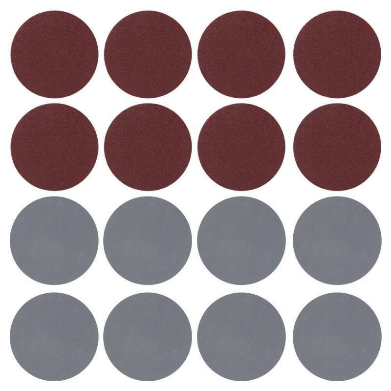 100pcs 75mm 3 Inches Sanding Discs 80-3000 Sandpaper Hook Loop Sandpaper Round Sandpaper Disk Sand Sheet Home Tools