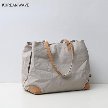 Plastry VIP moda damska torba na ramię Japan Style płócienne torebki 2021 nowa duża pojemność kobieta Tote Bag wsparcie Dropshipping tanie i dobre opinie HOYOBISH SQUARE Torby na ramię Na ramię i torebki CN (pochodzenie) PŁÓTNO zipper SOFT NONE W stylu japońskim JP801