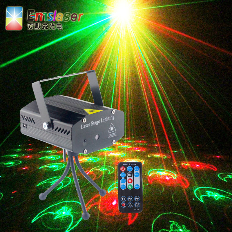 Voice KTV Flashlight Laser Light Disco Dancing Lamp Bar Laser Lighting Household Dormitory Decoration Colorful Light