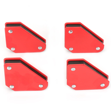 4pcs 9LB Angle Soldering Locator Magnetic Magnet Corner Arrows Welder Welding Holder Tool