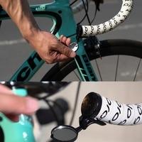 Universal Da Bicicleta Da Bicicleta Ciclismo Espelho Para Road Bike Inquebrável Rotatable Guiador Espelho Retrovisor Lateral de Segurança|Espelhos de bicicleta| |  -