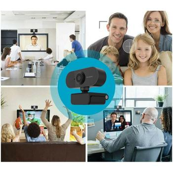 HD Webcam Built-in Dual Mics Smart 1080P Web Camera USB Pro Stream Camera Video Recording PC Game Cam For OS Windows10/8