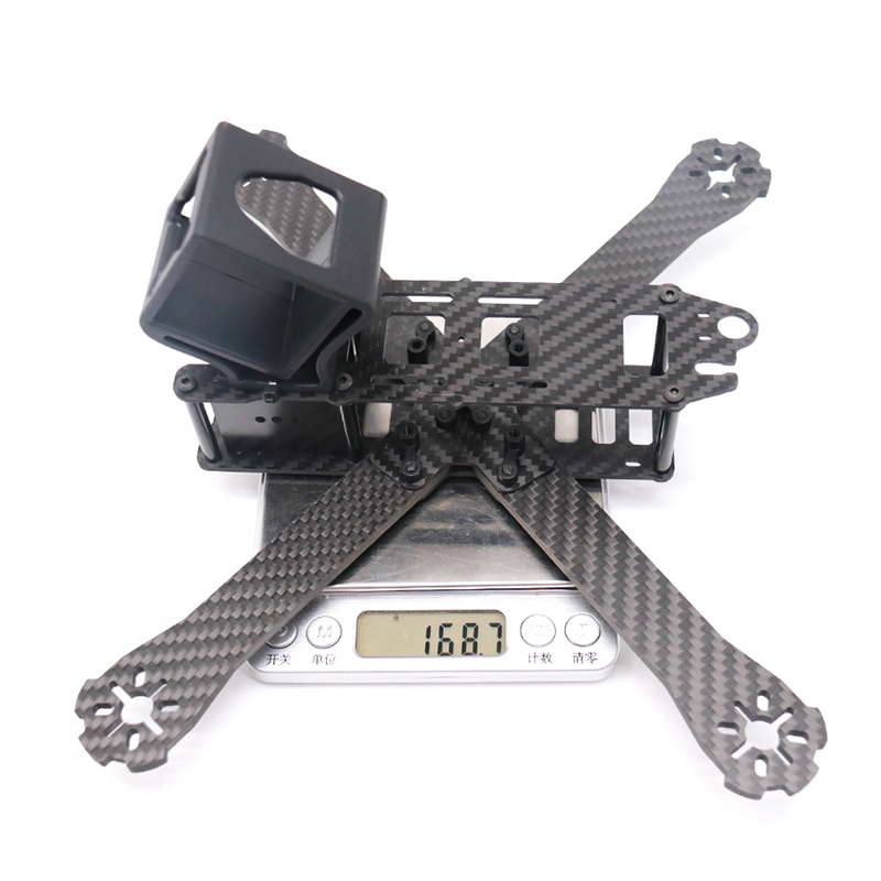Image 5 - TCMMRC FPV Frame Boat X Wheelbase 220mm 250mm 4mm Arm Carbon Fiber For FPV Racing Drone Frame Parts-in Parts & Accessories from Toys & Hobbies