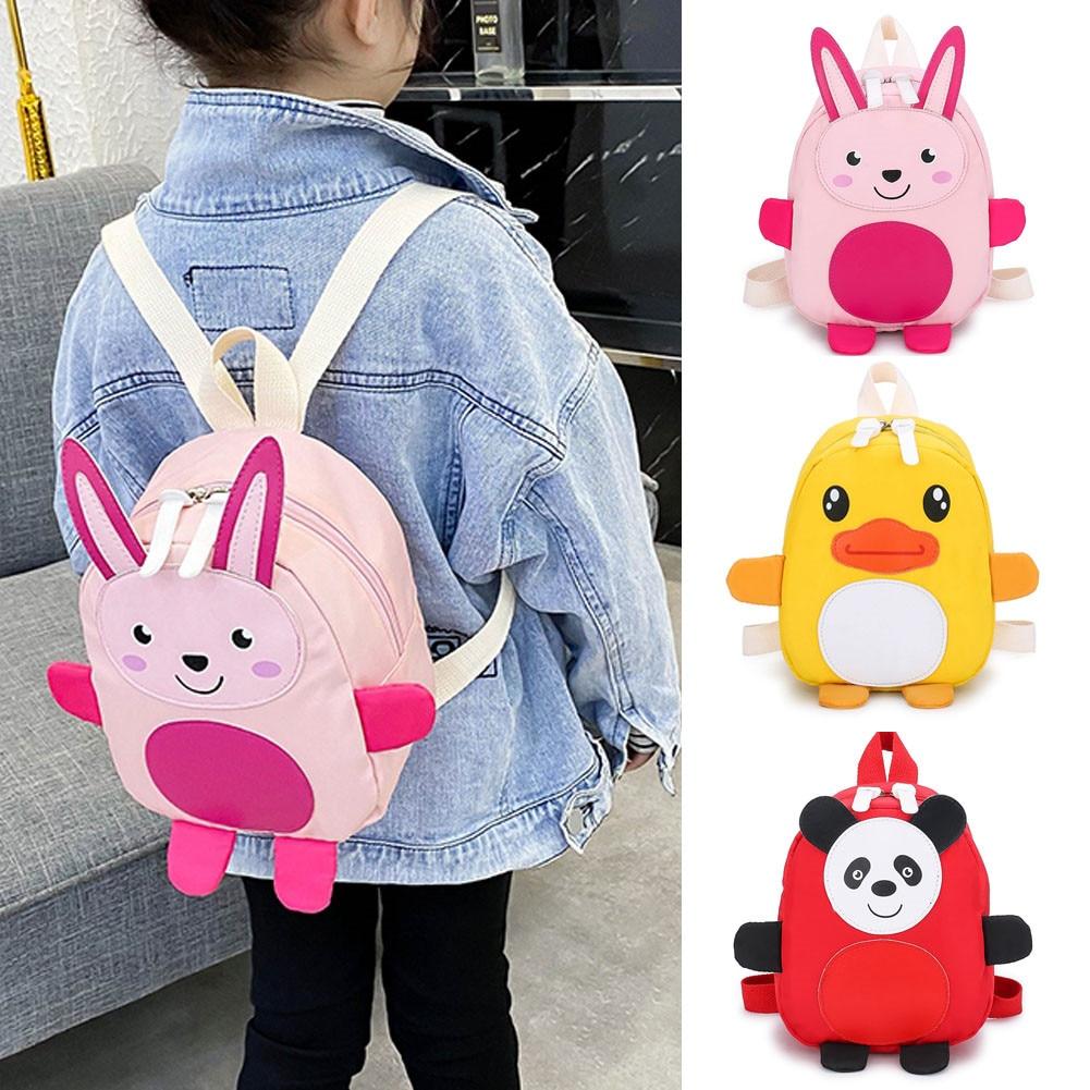 Children Cartoon Gifts School Bags Kids Animal Backpacks Girl Boy Cute Schoolbag