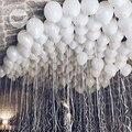 1,8 г 30/50 шт./лот, латексные шары, свадебные украшения, праздничные надувные гелиевые шары на день рождения, маленькие белые цветные шары