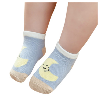 Infant Baby Winter Socks Cotton Newborn Socks Boy Toddler Sock Baby Girl Baby Boy Clothes Accessories Chaussette Garcon image