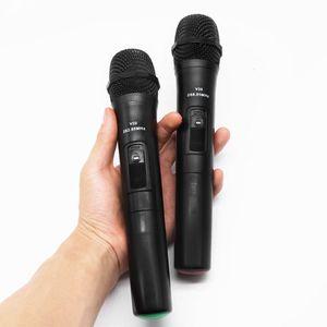 Image 5 - UHF USB 3.5mm 6.35mm sans fil Microphone mégaphone portable micro avec récepteur pour karaoké discours haut parleur