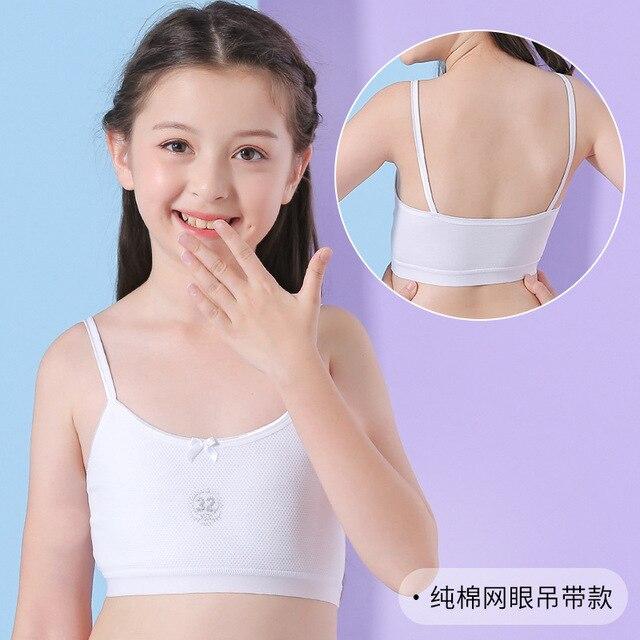 Mädchen Sport Bh Trainings Bh für Mädchen 6-18 Jahre Tops Unterwäsche 3