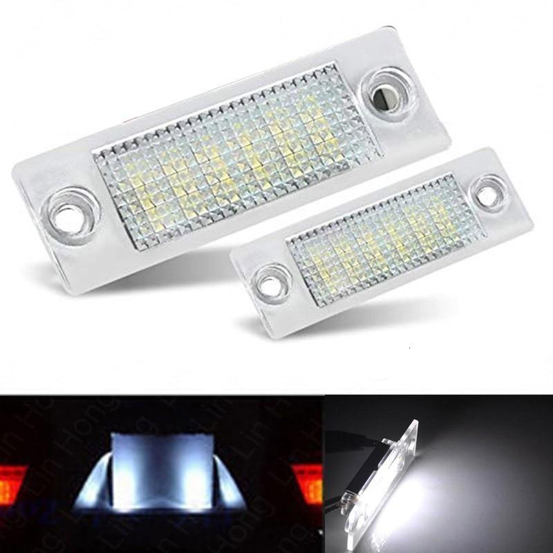 LAMPADINE LED CANBUS FESTOON C5W 36MM 39MM 3 LED SMD 5050 BIANCO PURO TARGA