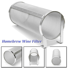 Ситечко из нержавеющей стали Hop Spider для домашнего варения пива, фильтрующий картридж Hop 100x255 мм, фильтрующий элемент 400 микрон для чайника