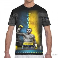 Vasyl Lomachenko - The Matrix fan art men T-Shirt women all over print fashion girl t shirt boy tops tees Short Sleeve tshirts(China)