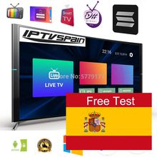 14 MONTHS Spain IPTV m3u Subscription for Spanish Portugal Dutch Sweden Israel enigma2 code PC Smart TV Android Phone TV Box(China)
