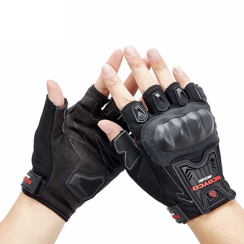 Motorcycle Gloves Full Finger Men's Drop resistant Cycling Riding Midi off Road|Golf Gloves| |  - title=