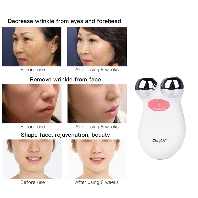 Image 5 - Mini EMS Microcurrent Face Lift Machine Skin Tightening Rejuvenation Spa USB Rechargeable Facial Wrinkle Remover Beauty Massager-in Powered Facial Cleansing Devices from Home Appliances