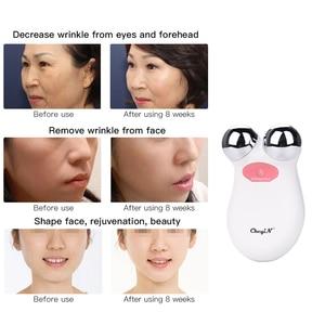 Image 5 - 미니 ems microcurrent 얼굴 리프트 기계 피부 회춘 spa usb 충전식 얼굴 주름 제거제 아름다움 마사지