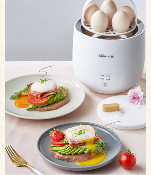 220V Electric Egg Cooker Household Breakfast Maker Multi Egg Custard/Hotspring Egg/Poached Egg/Boiled Egg Steaming Cooker 2
