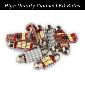 Image 2 - TPKE Lámpara LED Canbus blanca para Interior de coche, Kit de bombillas para Subaru Forester, mapa, domo para maletero o matrícula, 2019 2020, 8 Uds.