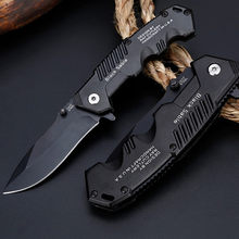 57HRC Zakmes Tactische Survival Messen Jacht Camping Blade Edc Multi Hoge Hardheid Militaire Survival Mes Pocket(China)