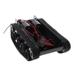 Controle remoto da plataforma do chassi do tanque do equilíbrio de amortecimento diy para arduino