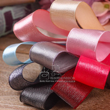 100yards 25mm 38mm organza sheer face satin ribbon for hair bow diy accessories bouquet flower packing bow diy craft supplies цена и фото