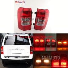 MIZIAUTO Rear Tail Light For Jeep Patriot 2008-2017 Car Styling Rear Bumper Light Brake Light taillights assembly Fog lamp цена в Москве и Питере