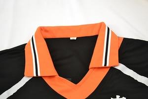 Image 5 - Haikyuu تأثيري Karasuno زي المدرسة الثانوية للكرة الطائرة نادي هيناتا Shoyo ملابس رياضية جيرسي موحدة