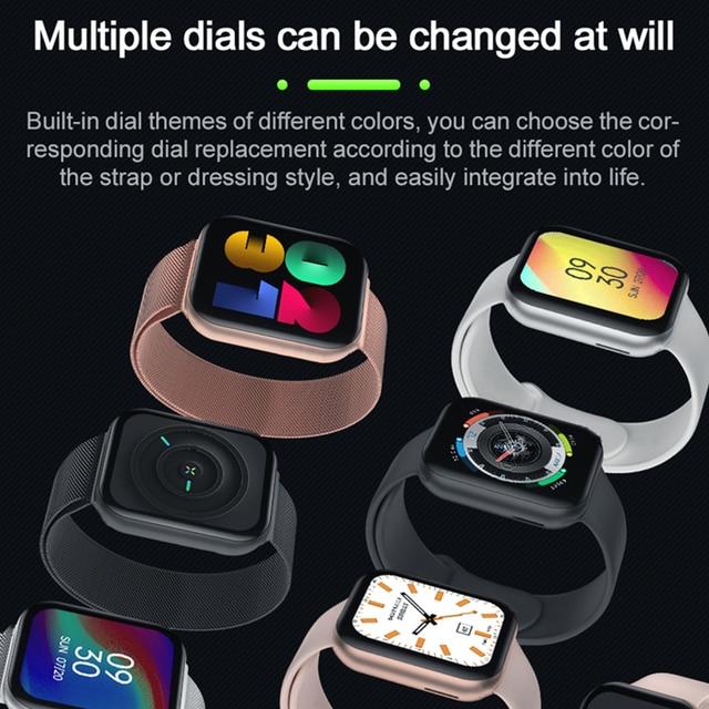 Finow Iwo 12 Pro FK78 Smart Horloge Pk W56 Reloj Inteligente Horloge 1.78 Inch Bluetooth Call Sport Fitness Armband Voor android Ios