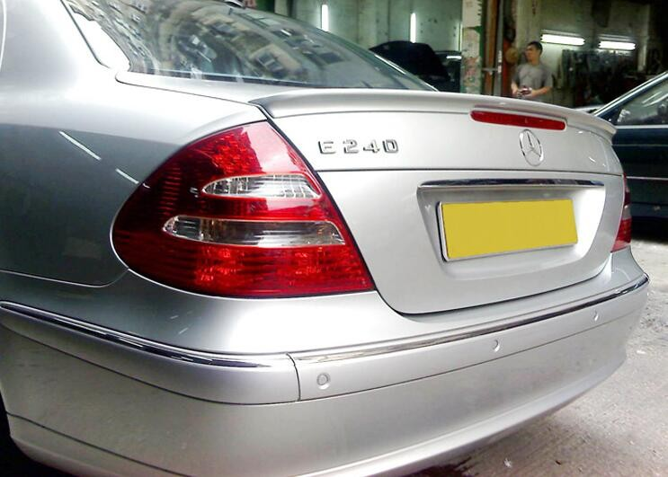 2008 Fit FOR Mercedes Benz W211 E-Class L Type Trunk Spoiler PAINTED #744 775